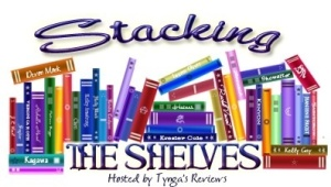 Thank you to Tynga's Reviews for hosting Stacking the Shelves